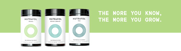 nutrafol the more you know the more you grow