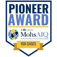 Pioneer Award badge